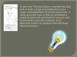 inventors and their inventions edison presentation