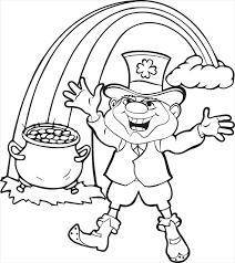 Full Size Of Coloring Pagestunning Leprechaun Pages1 Page Large Thumbnail