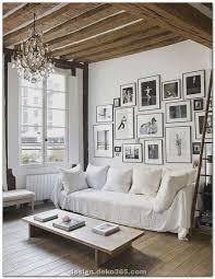 moderne wohnzimmerdekoration und elegantes landhaus ideen