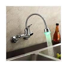 küchen armatur zur wandmontage mit flexiblem auslauf und
