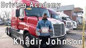 100 Paid Truck Driver Training Khadirs CDL Has Off Driving Academy Student