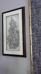Focal Point Styling Diy Indigo Wall Art With Framed Fabric 2018