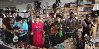 NPR Music and alt Latino present a Tiny Desk Concert video with