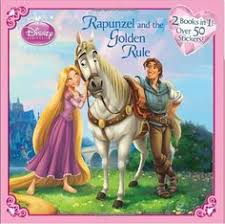Rapunzel And The Golden RuleJasmine Two Tigers Disney Princess Deluxe Pictureback