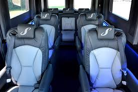 The Sherry Van Has Many Seating Options Including This 9 Passenger Layout