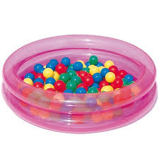 piscine a balle gonflable piscine gonflable avec 50 balles achat vente pataugeoire
