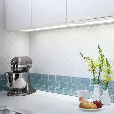 shop american olean vaughn gloss white glazed porcelain mosaic