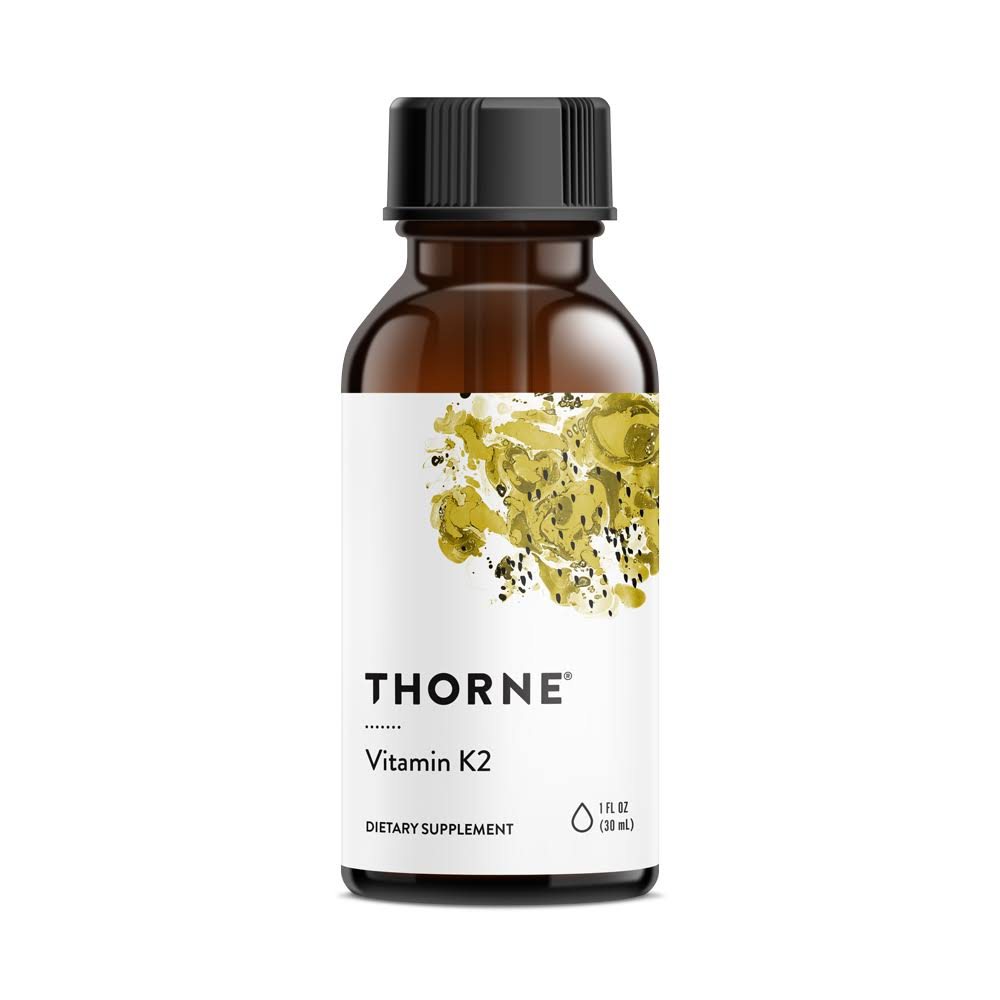 Thorne Research Concentrated Vitamin K2 Supplement - 30ml