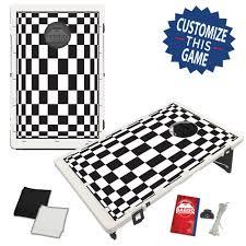 Checkers Bean Bag Toss Game By BAGGO