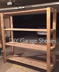 build your own garage shelves youtube
