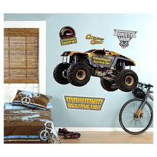 Monster Truck Wall Decals | Compare Prices At Nextag Monster Truck Vinyl Wall Decal Car Son Room Decor Garage Art Grave Digger Fathead Jr Shop For Sticker Launch Os_mb592 Products Tagged Cstruction Decal Stephen Edward Graphics Blue Thunder Trucks And Decals Stickers Jam El Toro Giant Elegant Familytreeshistorycom Blaze The Machines Scene Setters Decorating Kit Decals Home Fniture Diy Mohawk Warrior Warrior Monster Trucks Jam Wall Stickers Transportation 15 Fire