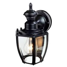 l home depot porch lights motion outdoor wall light motion