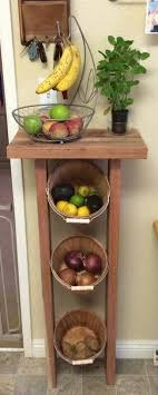 Arrange Fruits And Vegetables In A Small Kitchen Idea 4