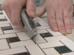 Best Glass Tile Nippers by How To Install A Mosaic Tile Floor How Tos Diy