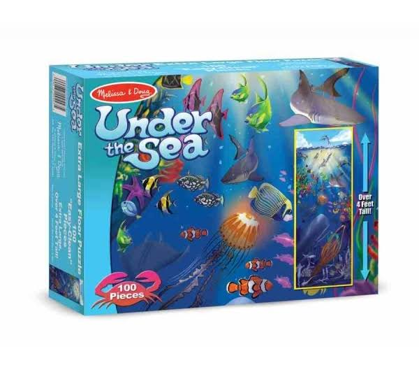 Melissa & Doug Under the Sea Floor 100 Pieces Jigsaw Puzzle