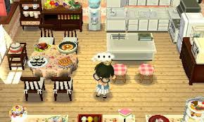 Acnl Homes Flower Fan Last Minute Kitchen Room I Made