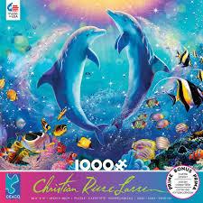 100 Christian Lassen Riese Pas De Deux 1000 Piece Puzzle