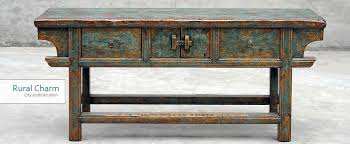 Urban Rustic Furniture Exotic Finishes Textures And Patina Rural Charm With Sophistication