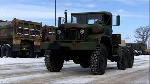 100 Military Semi Truck M818 6x6 5 Ton Tractor YouTube