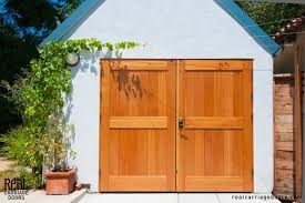 Outswing Carriage Garage Doors Eclectic Granny Flat or Shed