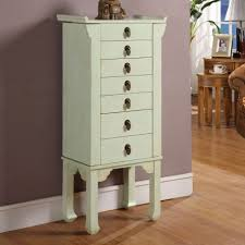 Image Of Rustic Jewelry Armoire Style