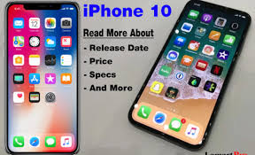 iPhone 10 release The Features Pricing and Release Date