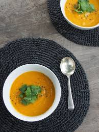 Thai Pumpkin Curry Soup Recipe by Thai Style Pumpkin Soup With Coconut And Red Lentils Healthy