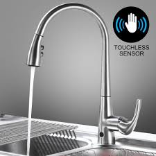 Touchless Kitchen Faucets Moen by 100 Sensor Kitchen Faucet Steel Motion Sensor Kitchen
