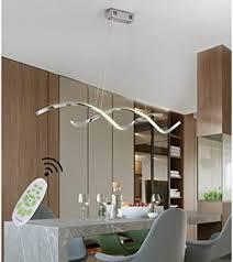 hängele pendelleuchte led esstisch esszimmer decken le moderne dimmbar fernbedienung hängeleuchte küchen wohnzimmer höhenverstellbar