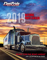 100 A1 Truck Parts FleetPride 2019 National Catalog