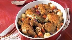 cuisiner un coq coq au vin recettes iga poulet vin recette facile