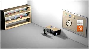 sur le bureau fond d écran 3d pour organiser les icones sur le bureau de votre