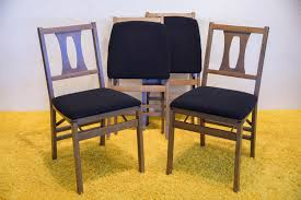 Mid Century Danish Teak Folding Chairs Antique Stakmore Louis Rastter Sons Folding Wooden Leather Chairs Set Of 7 1940 Wood Related Keywords Suggestions Midcentury Retro Style Modern Architectural Vintage French Cane Back 6 Mid Century Camping Table And Sante Blog Aptdeco Folding Chairs Are Ideal For Accommodating Extra Details About Chippendale Chair 2 3