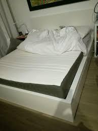 ikea malm bett mit matratze 1 60x2m und schubladen