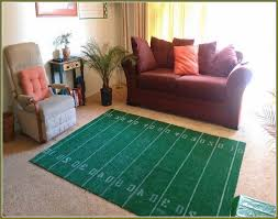 Cheap Dallas Cowboys Room Decor by Outstanding Football Field Area Rug Home Design Ideas Inside