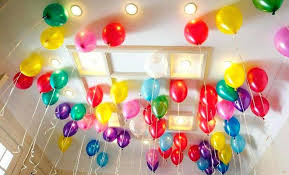 Balloons Decoration Ideas For Birthday Party Simple Balloon At Home