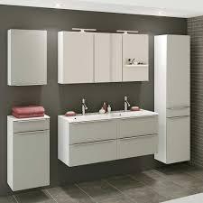 design badezimmer set in grau und weiß doppelwaschtisch 5 teilig