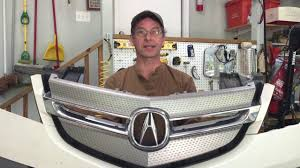 mdx front bumper removal