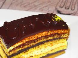 NoSetMenu Opera Cake Pistachio Opera