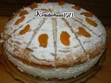 5 käse sahne torte mit keksboden und mandarinen torte