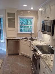 Corner Kitchen Sink Cabinet Ideas by Kitchen Corner Kitchen Sinks In Inspiring Corner Kitchen Sink
