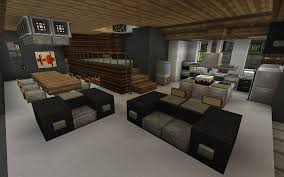minecraft interior i really like the raised area with the
