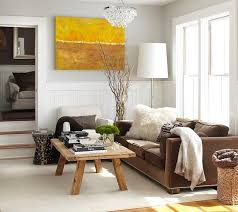 Brown Couch Living Room Design by Stunning Modern Rustic Living Room Apartment Interior Ideas