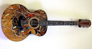Picture Of On Coloring Guitar Tops