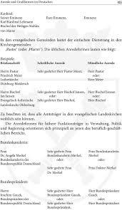 Anrede Bischof Brief