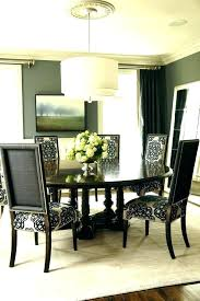 Dining Table With Beige Tufted Nailhead Chairs Room Living Furniture Nailheads