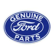 100 Blue Oval Truck Parts Ford Decal 612 On White
