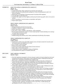Download Office Administrative Assistant Resume Sample As Image File