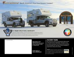 2014 ALP Adventurer Truck Campers Brochure | RV Brochures Download 2016 Adventurer Truck Campers Eagle Cap 1160 Youtube Review Of The 2012 Wolf Creek 850 Camper Adventure 2014 Alp Brochure Rv Brochures Download 2018 1165 Eugene Or Rvtradercom Recreationalvehiclesinfo 2007 Launches Tripleslide Business Albertarvcountrycom Dealers Inventory 2010 Calgary Ab Us 2299000 Stock Number In Bed For Pickup Trucks Photos Big Rig This Popup Camper Transforms Any Truck Into A Tiny Mobile Home In