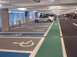 Car Park Lining Mall Parking